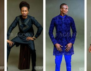 @Denrele_Edun Stars In Fabulous Menswear Look Book For The Motley Collection By JB Agoro