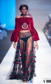 Gavin Rajah, Joanna Headley & Lara Klawikowski @ Mercedes Benz Fashion Week Cape Town 2017; Day 1