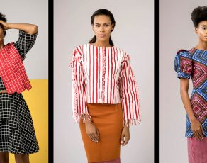 Nigeria's FIA Factory Presents The Look Book For The 'Stripes X Tribes' Collection Has All the Tribal Prints & Colourful!