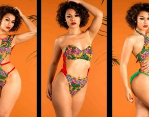 Former Ghanaian Based Swimwear Brand Aya Morrison Presents EMAGO, Their SS17 Beachwear Collection