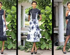 Emerging Ghanaian Brand Step Out Designs Present Extraordinary Look Book Titled The 'Night Flower' Collection