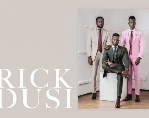 #AfricanFashion4Men: Check Out Nigerian Mens Brand RICKDUSI SS18 New Campaign 'The Conversation'
