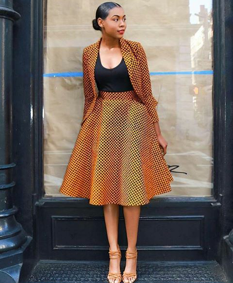 Fab African Print Street Style Inspirations From Instagram