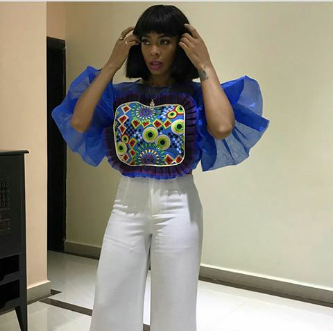 Nigerian Celebrities And Fashionistas Seem To Be Loving The Belois Candy Top By Top Nigerian Fashion Brand Fashionghana Com 100 African Fashion