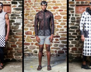 Nicoline Presents The Look Book For The AfroMagic Menswear Collection