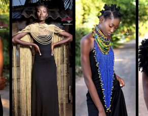 Aphia Sakyi Drops An Amazing Necklace Collection Inspired By Ghanaian Queens Feat. Top Model Kukua