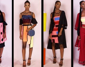 Nigerian Fashion Brand CeCe Presents The Look Book For The 'Kandinsky' Collection