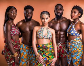 HOT SHOTS: #AfricanSwimwear Label Crown Rose Launches A Beautiful Collection Married Couples; Enjoy!