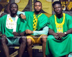 Ghanaian Menswear Fashion Brand Eketino Presents The 'Urban Glory' Collection As Shown On Accra Mens Fashion Week