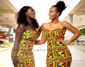Check Out The Viral Look Book By Successful Ghanaian Fashion Label 'True Fonds'