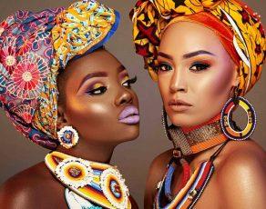 Hot Shots: Fabulous Headwrap Editorial 'AFRONATION' With Amazing Kenyan Jewelry Shot By Sean Whitty