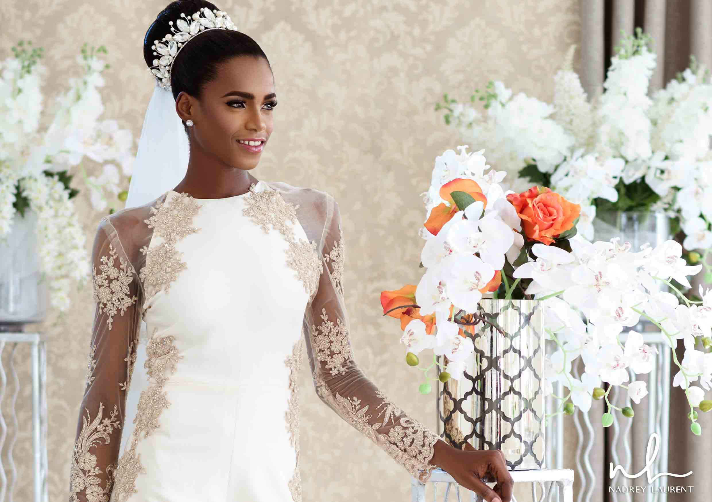 Nadrey Laurent Introduces It\'s First Ever Bridal Collection Themed ...