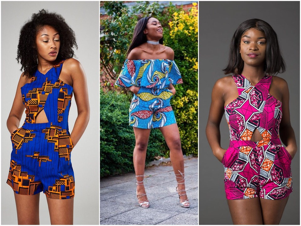 cd4f4572fe3 African Print Romper Styles You Would Look Sweet In When He Asks You Out On  A Date.
