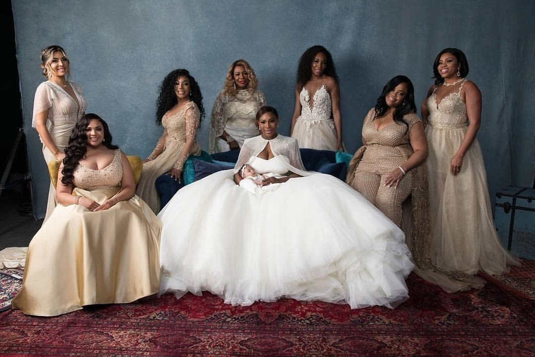 PICS: See All The Images From Serena Williams Wedding Here