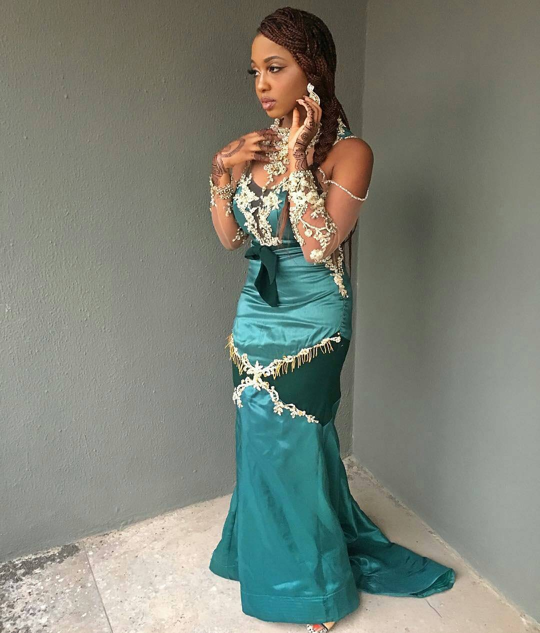 Rita Dominic, Tiwa Savage And Others All Decked Out In Their Arabian ...