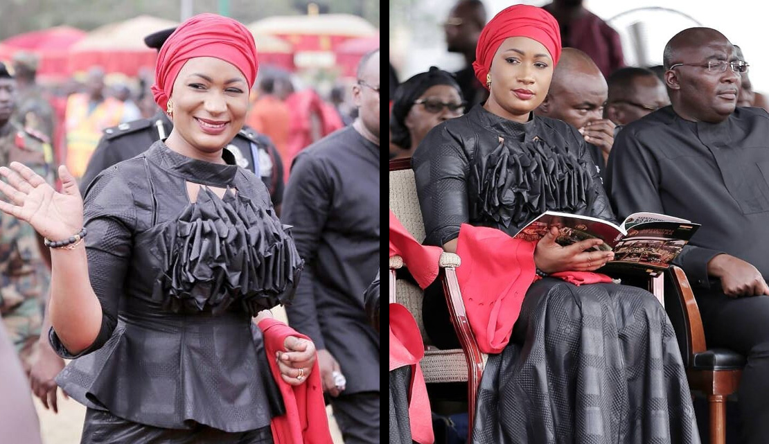 Kaba And Slit Style For Funerals In Ghana African Fashion T