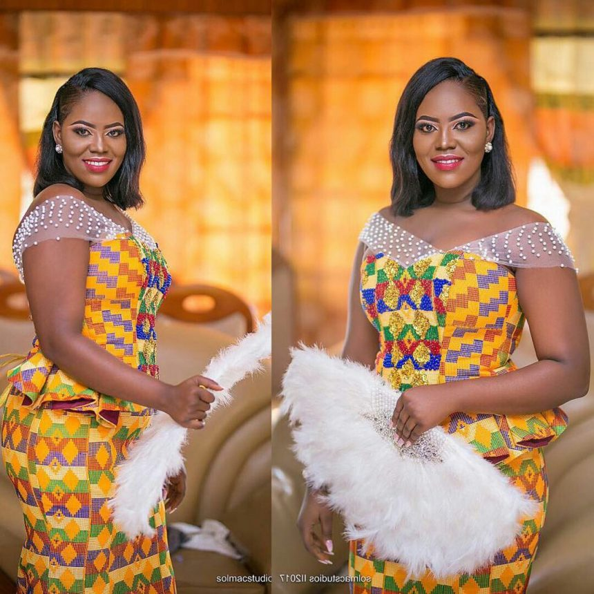 Kente Wedding Gowns: Why Kente Is The Modern Ghanaian Traditional Bride's