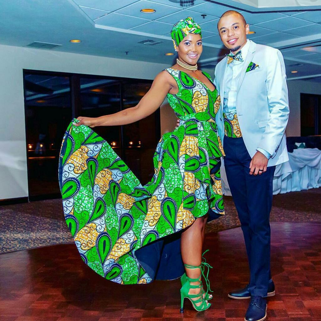 get inspired from these 10 african print matching outfits