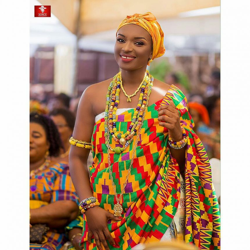 Why Kente Is The Modern Ghanaian Traditional Bride's