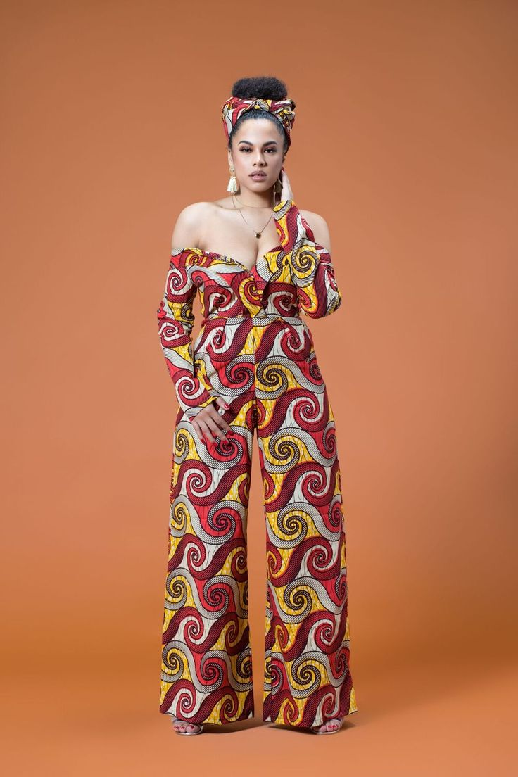 a70b9787b760 15 Latest African Print Jumpsuit For Your Inspiration