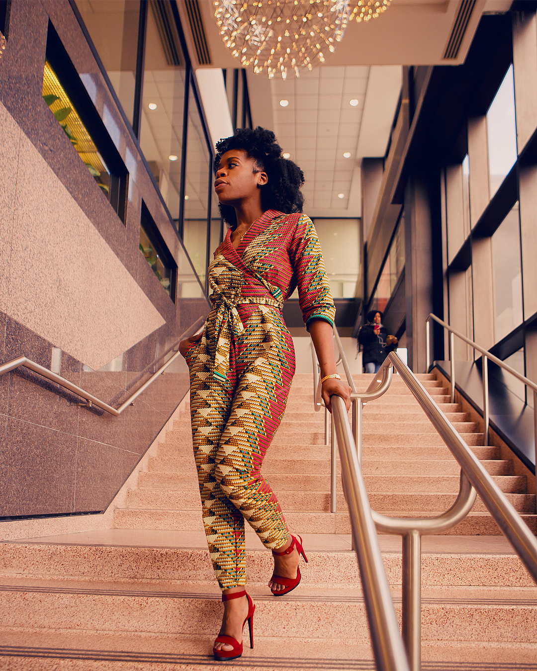 8d7f453f6b3 15 Latest African Print Jumpsuit For Your Inspiration – FashionGHANA ...