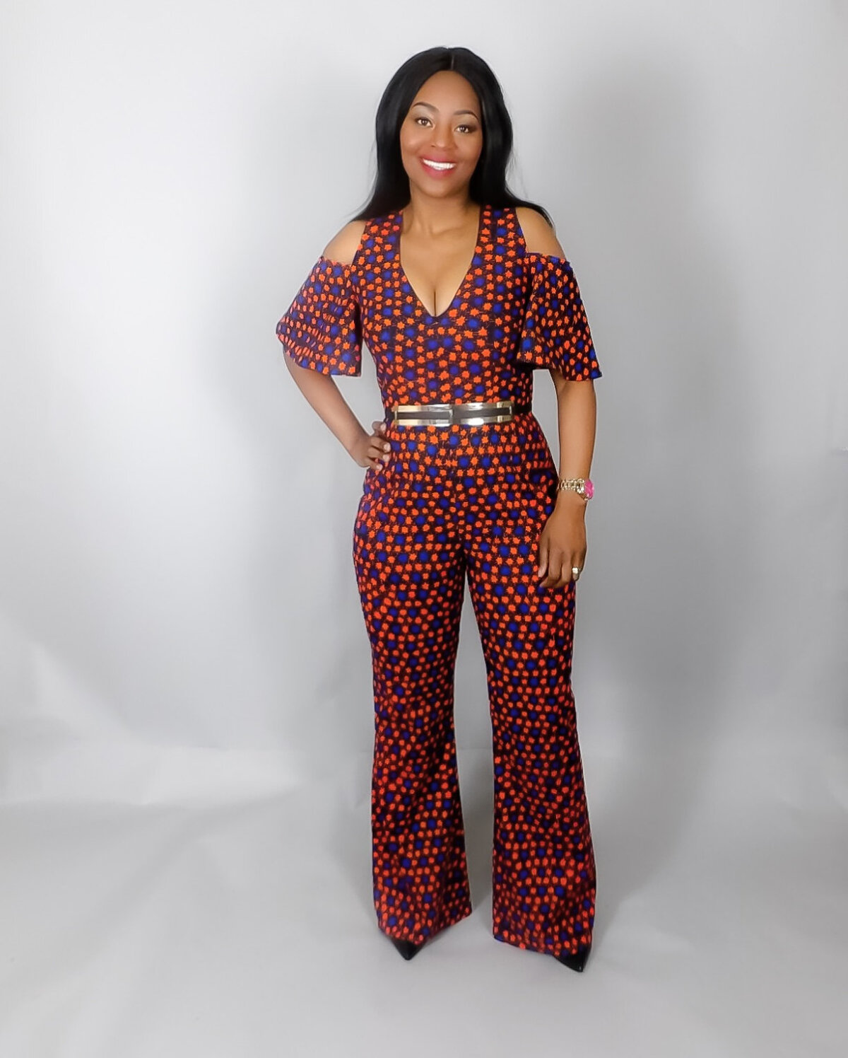 3b5843071d0 15 Latest African Print Jumpsuit For Your Inspiration – FashionGHANA.com   100% African Fashion