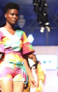 Bri Wireduah Turn Heads At The Just Ended #AFWk Chilly Rain 2018 With Exquisite Jumpsuit Collection