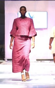 Afre Anko Brings Afro Magic  And Plus Size On The Runway Of #AFWK Chilly Rain 2018