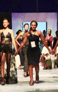Katiti, Seychelles's First Designer In Ghana Brought Glam And Glitz On #AFWk #CR18 Runway