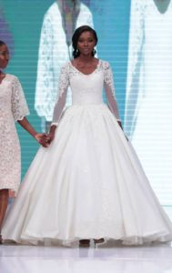 Day1: Lagos Bridal Fashion Week- Otunmemine and Elizabeth & Lace Collection