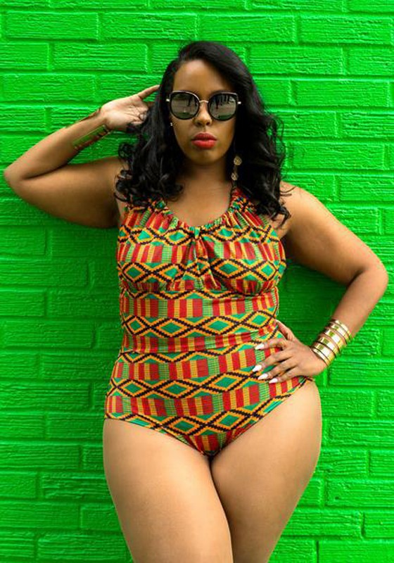 Fgstyle 10 Hottest African Print Bikini Looks For Curvy
