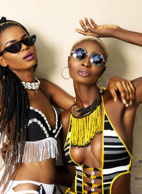 #fGEditorial: This Sexy Swimwear Shoot With Grace Quaye & Celestine Will Have Your Jaws Dropping