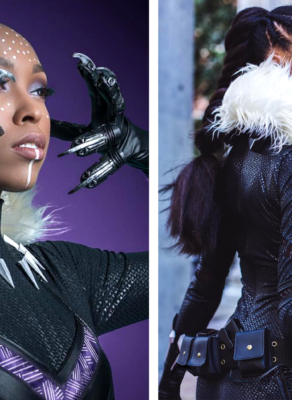 HOTSHOTS: Could A Female Black Panther Movie Be In The Works? See Images Of Shuri In Her Suit