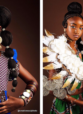 #HOTSHOTS: See How These Adorable Cute Babies Rocked African Print Bohemian Style!