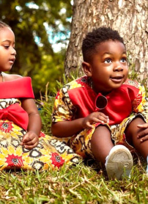 #HOTSHOTS: Shatta Wale's Son & Hajia4Real's Daughter In Woodin Fashion Is The Cutest Thing Ever