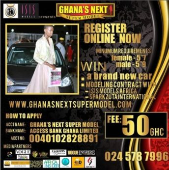 Ghana's Next Super Model Competition @ Peduase Valley | Aburi | Eastern Region | Ghana