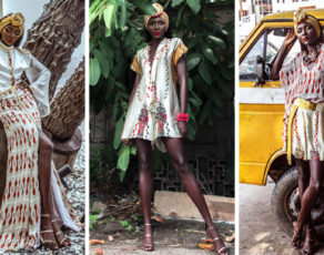 Nigeriian Designer Eki Orleans Presents The Look Book For The 'Eben' Collection