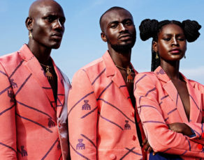 Nigerian Designer Emmy Kasbit The Look Book For Their Spring/Summer 2019 Collection