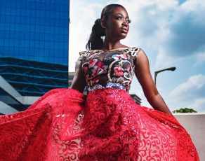 #HOTSHOTS: Gh Fashion Designer Afriken By Nana Presents Us With These Fabulous Images By OAB Photography