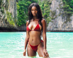#BIKINIBAE: Guinea's Mariam Diallo Scoops The First Feature Of Our Bikini Bae Segnment; Flashy But Classy