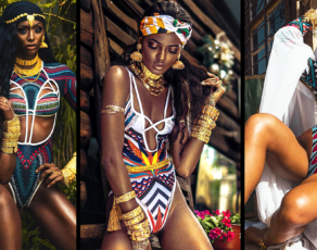 See All The Amazing Editorial Images From Nigeria's B-fyne's Latest Swimwear Campaign