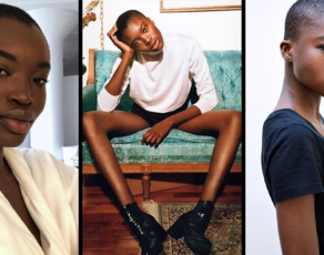 #MODELCRUSH: Meet Burkina Faso's Long Legged Maryse Kye Who Was Caught In The Big Lip Controversy
