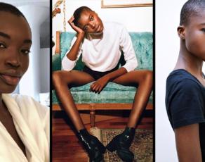 #MODELCRUSH: Meet Burkina Faso's Long Legged Maryse Kye Who Was Caught In The Big Lip Controversy