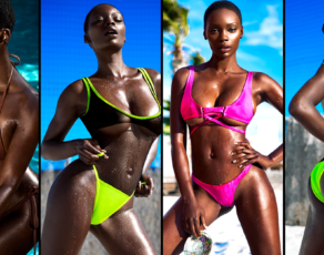 #BIKINIBAE: Meet Chasity Samone A Swimwear Hottie With A Body To Die For, Hide This From Your Man
