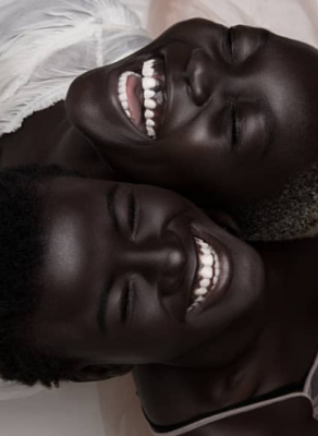 #HOTSHOTS: The Worlds Two Darkest Models From Senegal & Sudan Are Redefining Beauty In This Viral Shoot, Here Is What Is Shocking About It