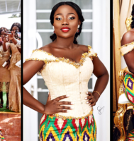 Watch This Fabulous Bride Dance At Her Traditional Wedding In Her Pistis Dress Like There's No Tomorrow