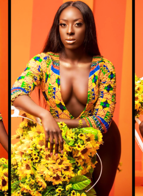 #HOTSHOTS: Ghanaian Model Gifty B Is Looking All Sorts Of Yummy In Haute Campaign Shoot By TwinsDontBeg