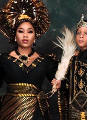 HOTSHOTS: Nigeria's Tiannah's Empire Blessed Us With Fabulous Mother & Son Goals