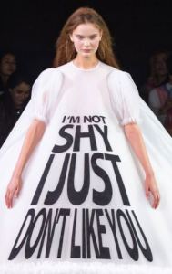 Paris's Viktor & Rolf Drops A Fabulous Collection Filled With Memes We've All Secretly Wanted To Say