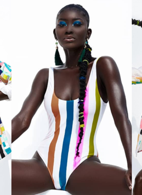 #HOTSHOTS: Dark Skinned & Overloaded Melanated Model Addie Stuns In Fabulous Editorial